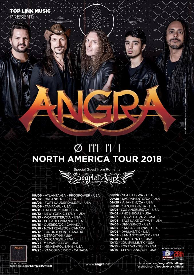 Angra at The Forge, September 20, 2018