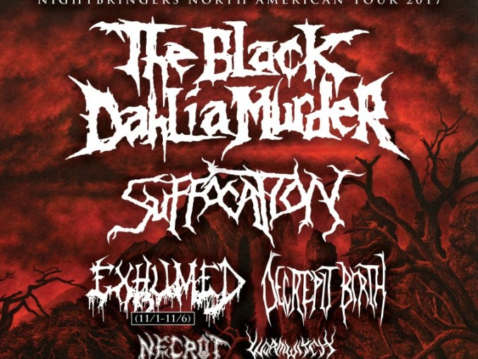 Black Dahlia Murder and Whitechapel embark on North American co-headlining tour
