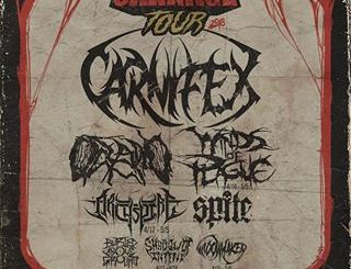 Chaos of Carnage Tour at The Forge, Thursday, April 26, 2018