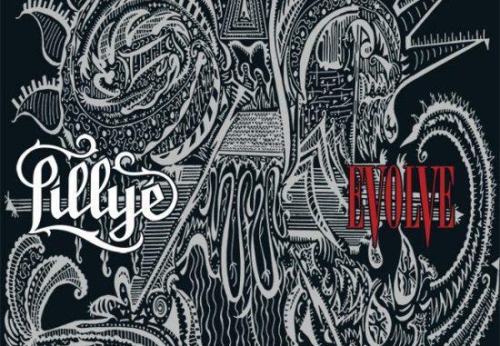 Lillye, album cover for Evolve