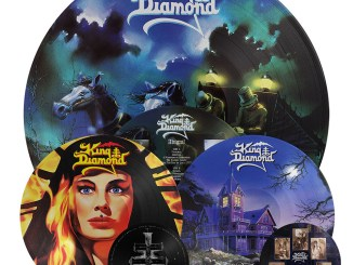 King Diamond Re-issues Abigail, Fatal Portrait, them albums