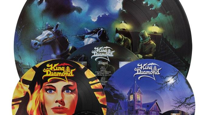 King Diamond Re-issues Abigail, Fatal Portrait, them albums