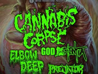 Cannabis Corpse at Reggies Thursdy, May 24, 2018