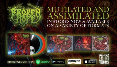 "broken hope new album, ""Mutilated and Assimilated"""