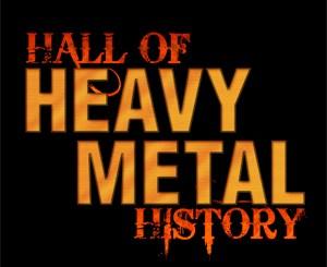 Hall of Heavy Metal History logo
