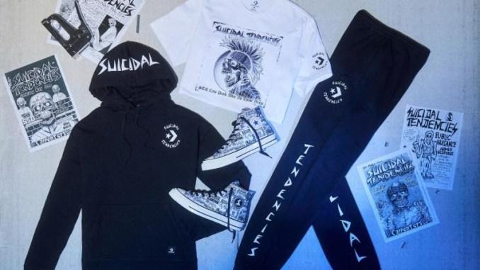 Suicidal Tendencies team up with Converse footwear and apparel