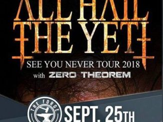 All Hail the Yeti at The Forge September 25, 2018