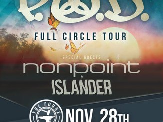 P.O.D. at The Forge Wednesday, November 28, 2018