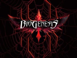 "BioGenesis album cover for ""Black Widow"""