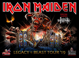 Iron Maiden Legacy of the Beast Tour, 2019 at Hollywood Casino Amphitheatre Thursday, August 22, 2019