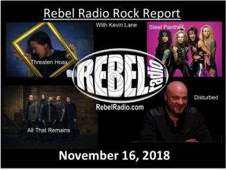 Rebel Rock Report: November 16, 2018