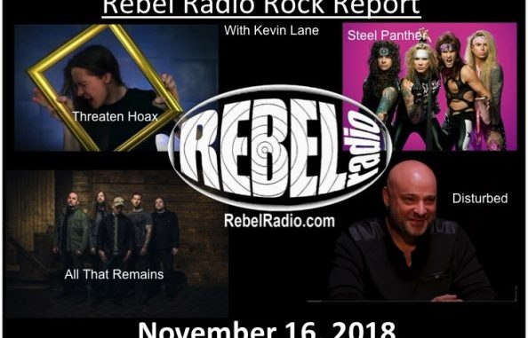 Rebel Rock Report: November 16, 2018
