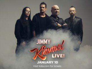 Disturbed playing on Jimmy Kimmel Live January 10, 2019