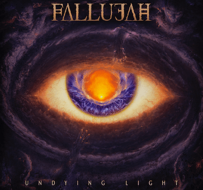 """Fallujah new album cover for """"Undying Light"""", out March 15, 2019"""