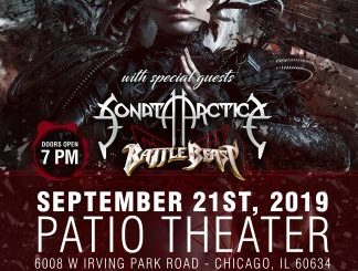 Kamelot at Patio Theater Saturday, September 21, 2019