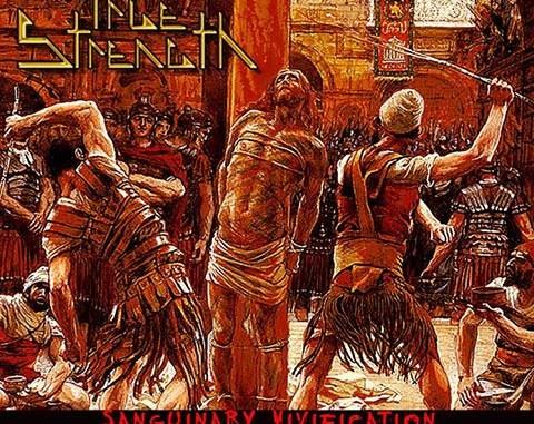 True Strength album cover for Sanguinary Vivification