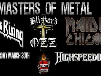 masters of metal 4 @Brauerhouse - Saturday, March 30, 2019