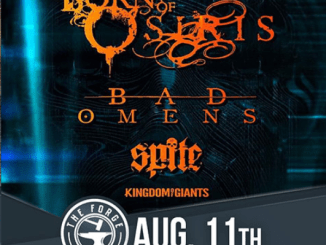 Born of Osiris at the Forge on Sunday, August 11, 2019