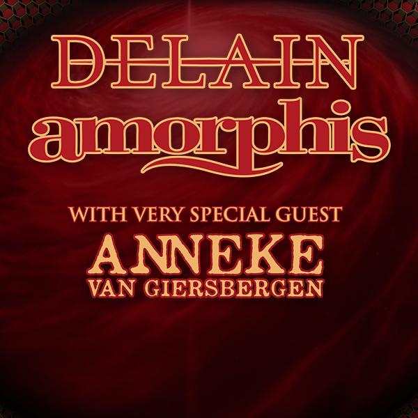 Delain and Amorphis at Turner Hall Ballroom on Sunday, September 29, 2019