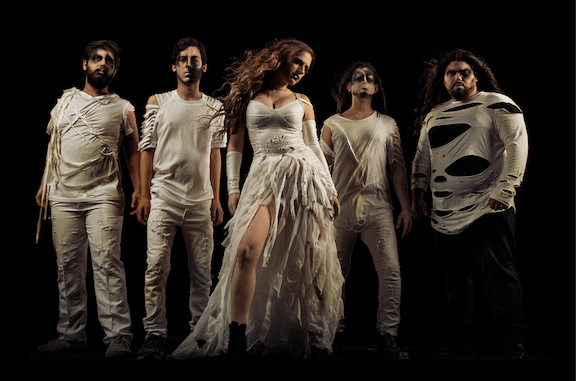 Scardust, an Israeli symphonic metal band, featuring 4 guys and 1 female singer