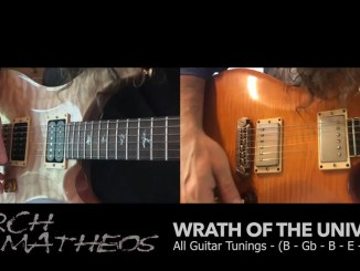 "Arch-Matheos ""Wrath of the Universe"" album cover"