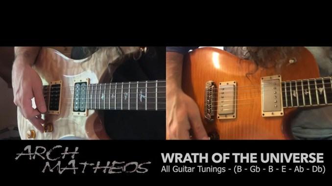 "Arch-Matheos ""Wrath of the Universe"" album cover"