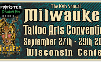 Milwaukee Tattoo Arts Convention (tattoo fest) September 27-29, 2019