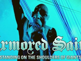 "Armored Saint Launches Video for ""Standing on the Shoulders of Giants"" - Watch it on Rebelradio.com"