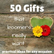 50 Gifts for boomers