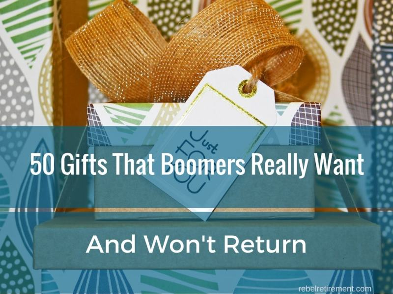 Exciting Gift Ideas for Boomers and Retirees - 50 Gifts They Won't Return!