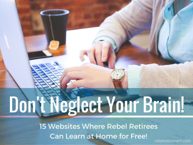 How to Keep Your Brain Healthy as You Age! - 15 Websites That Will Help You!