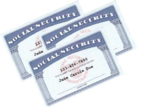 Jane Doe SS Card - Rebel Retirement