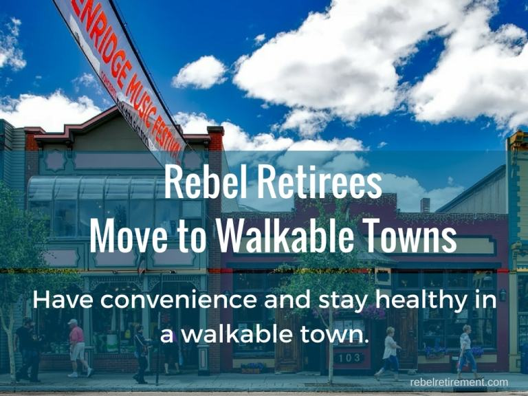 Why Baby Boomers Move to Walkable Towns