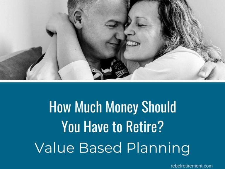 How Much Money Should You Have to Retire? [Try Value Based Planning]