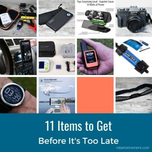 11 items retires should get - Rebel Retirement