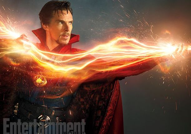 First official look at Benedict Cumberbatch as Marvel's 'Doctor Strange'