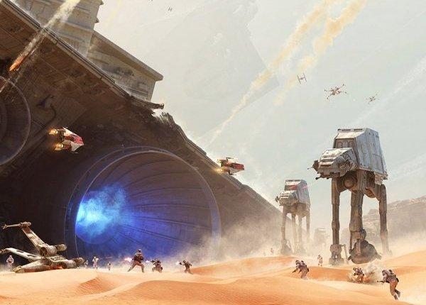 Star Wars Battlefront: Battle of Jakku Gameplay