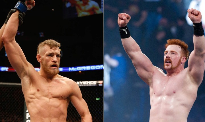 Conor McGregor: I would whoop WWE's Sheamus