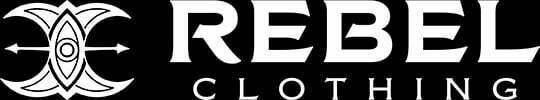 Rebel clothing footer logo