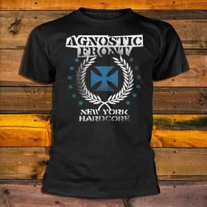 Agnostic Front Blue Iron Cross