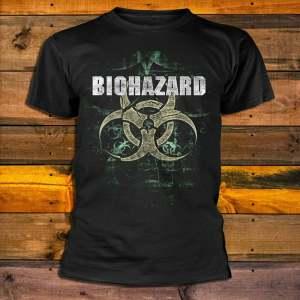 Тениска Biohazard logo