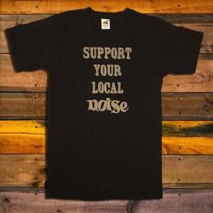Тениска Daily Noise Club Support