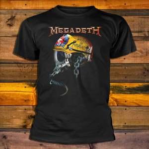 Тениска Megadeth Full Metal Vic
