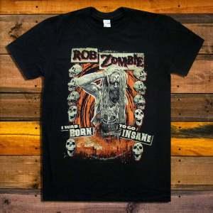 Тениска Rob Zombie Born to Go Insane