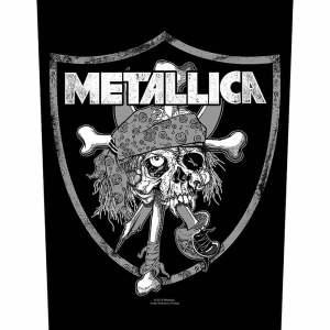 Гръб Metallica Raiders Skull