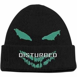 Зимна Шапка Disturbed Green Face