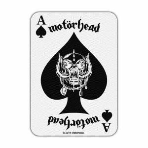 Нашивка Motorhead Ace of Spades Card