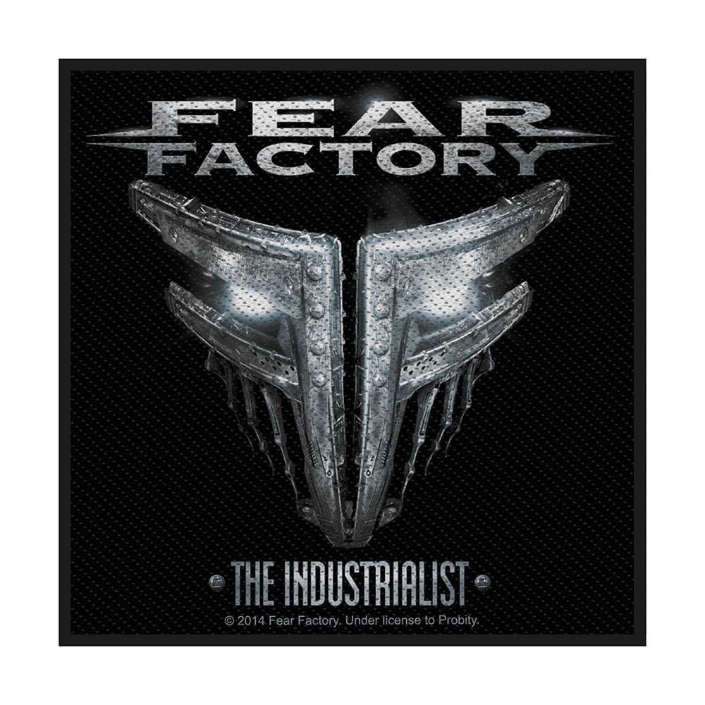 Нашивка Fear Factory The Industrialist