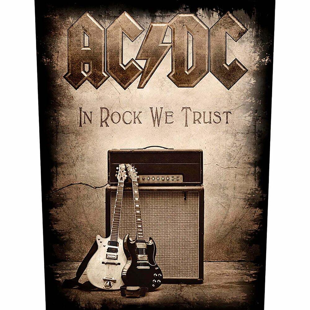 Гръб AC/DC In Rock We Trust