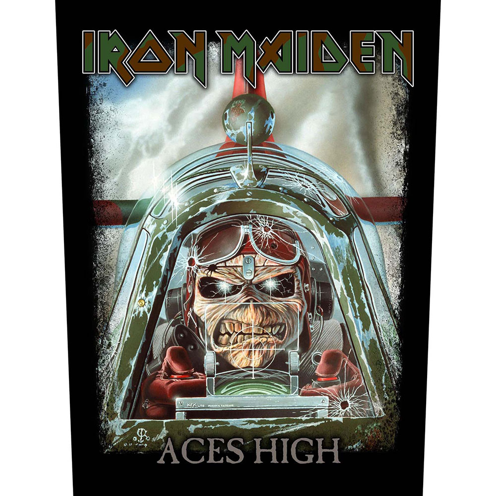 Гръб Iron Maiden Aces High